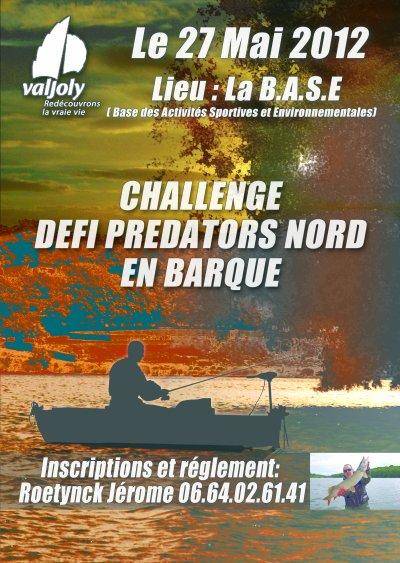 challenge predators Valjoly