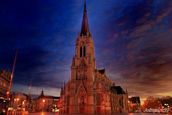 L'église st Christophe monument classé historisque du centre ville