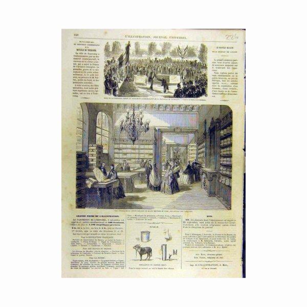 Magasin 1863 de Tissu de Bataille de Tourcoing de Monument France