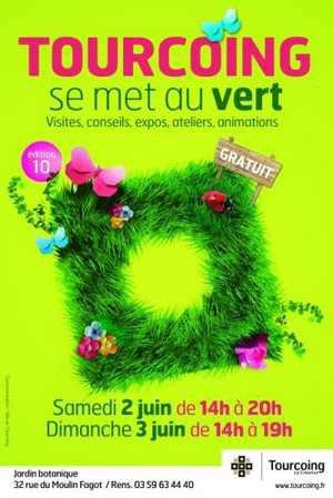 Tourcoing se met au vert le 2 et 3 juin 2012.