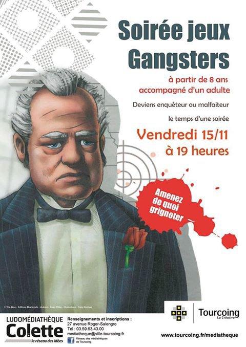 soirée jeux Gangsters