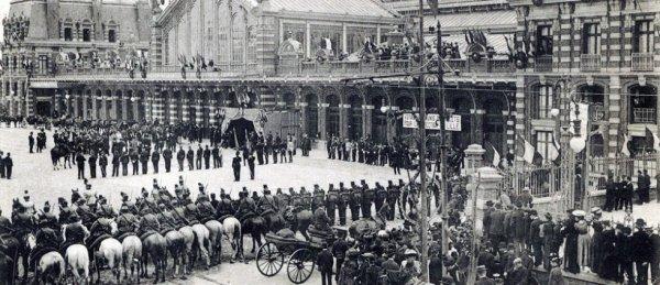 Inauguration de la gare de Tourcoing - E.L.B. - Médiathèque municipale de Tourcoing