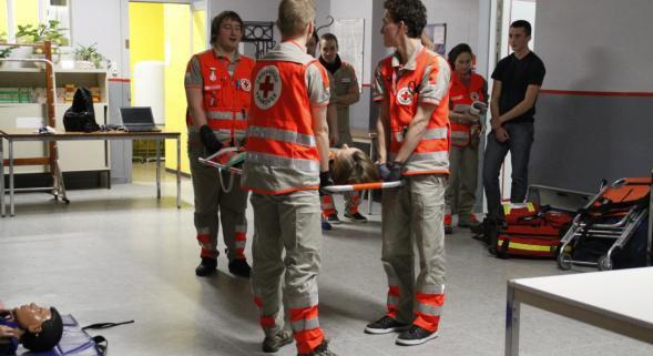 Fin de parcours à Tourcoing pour la caravane de la Croix-Rouge