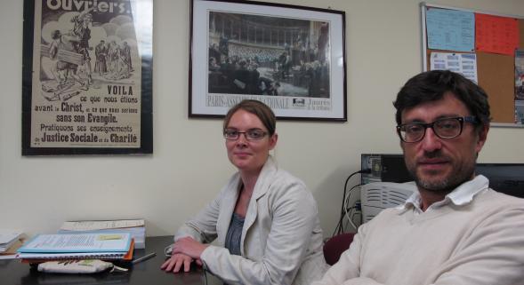 Tourcoing: des scientifiques aux côtés des ex-salariés du textile