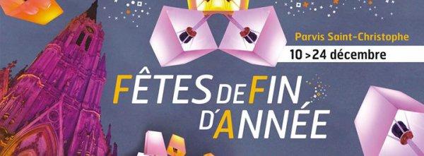 Fêtes de fin d'année a Tourcoing au parvis St Christophe