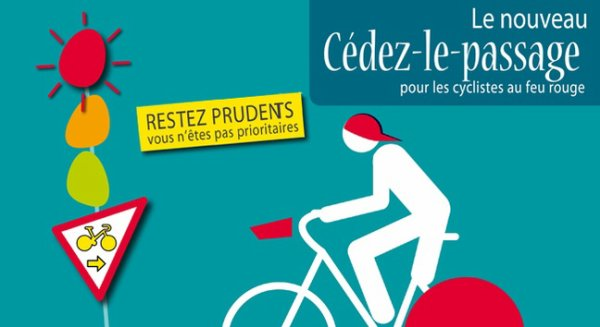 De nouveaux panneaux pour les vélos