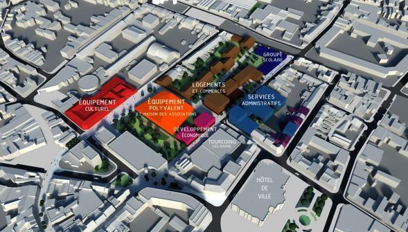 Tourcoing : Gérald Darmanin veut aussi réinventer le centre-ville