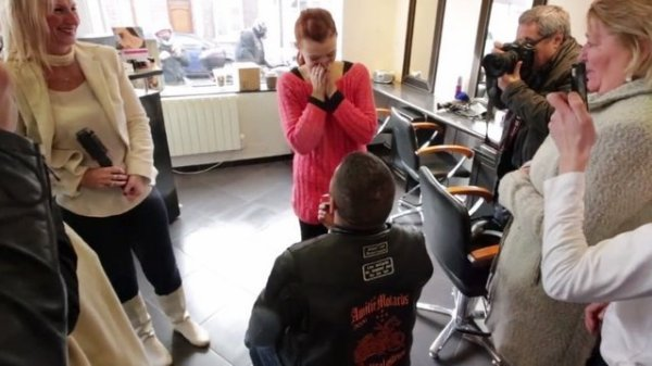 """Saint Valentin : une demande en mariage très """"motarde"""" à Tourcoing"""