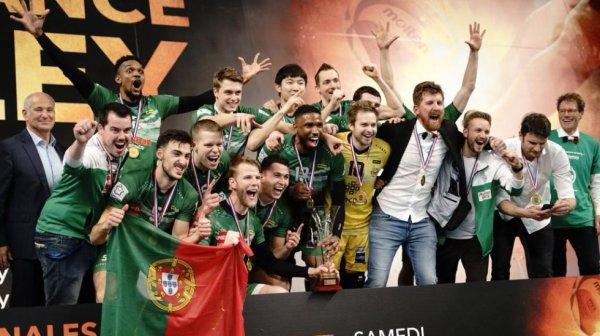 Tourcoing a remporté la Coupe de France pour la première fois, samedi, en dominant en finale Chaumont 3-2 (19-25, 24-26, 25-22, 25-20, 15-12).