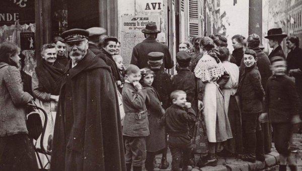 A Tourcoing, le départ des hommes et l'arrivée des Allemands