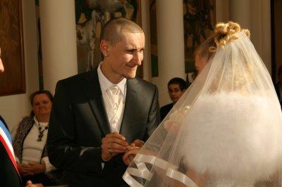 je suis mariée!
