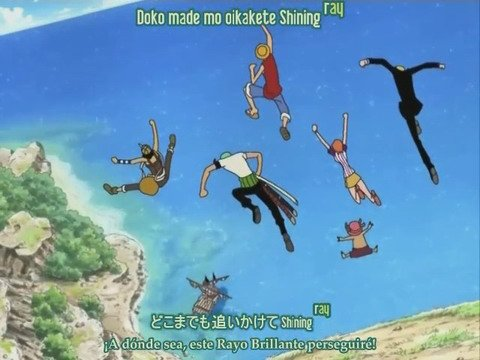 One Piece / ~~Ending 8~~ Shining Ray (2005)