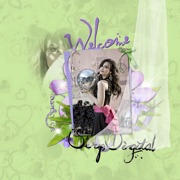 * Article oo Bienvenue, sur Scrap-Digital ! :D.•'