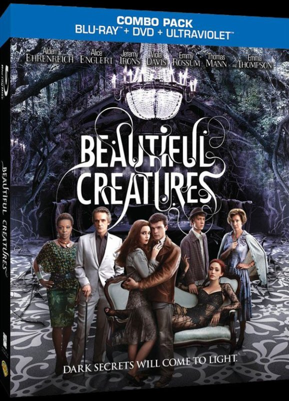 Visuel US du Combo Blu-Ray / DVD #BeautifulCreatures