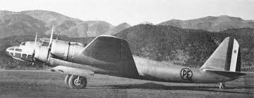 "Les bombardiers stratégiques: Piaggio P.108B ""Bombardiere""."