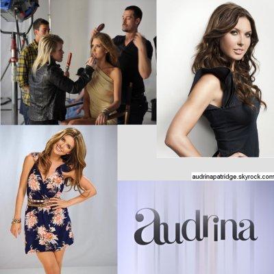 Audrina en couverture du magazine Shape & Nouvelles