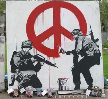 Graffitis (Banksy)