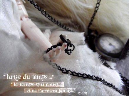 """"""" l'ange du temps ...."""""""