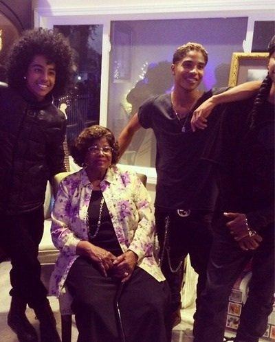 les MB était avec la maman de Michael Jackson