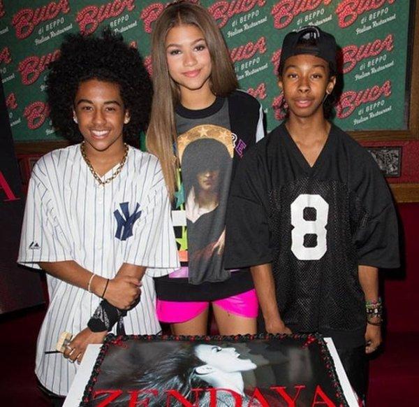 Princeton,Zendaya and Ray Ray