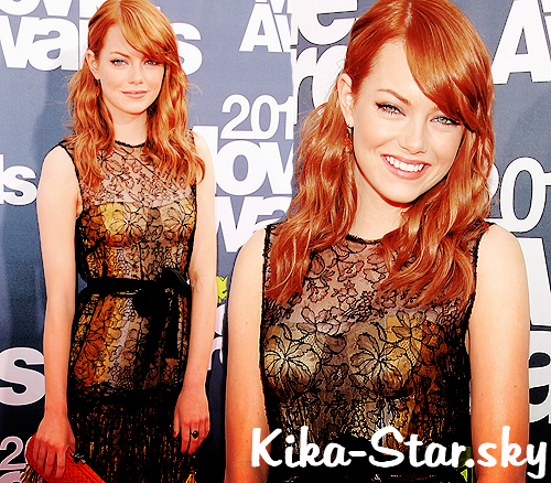 Emma Stone à MTV movie Award 2011