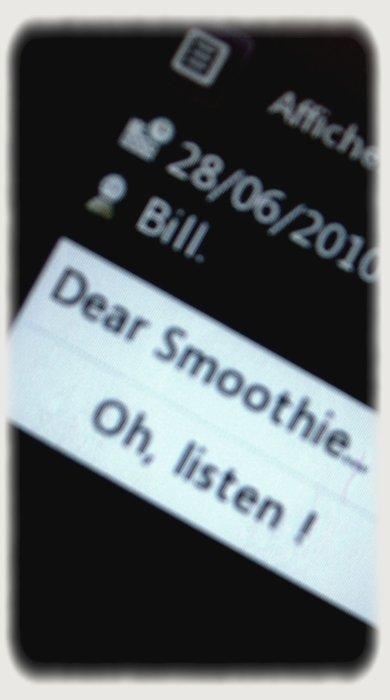 Smoothie, ma Smoothie.