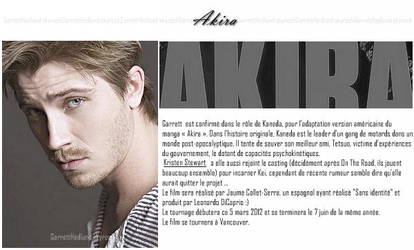 {Akira et On The Road :}➲ GarrettHedlund, votre source française sur Garrett Hedlund.