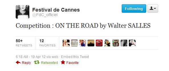 {On the Road - Festival de Cannes :}➲ GarrettHedlund, votre source française sur Garrett Hedlund.