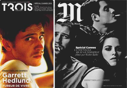 {Garrett en couverture des magazines + Garrett au MET ce 7 mai :}➲ GarrettHedlund, votre source française sur Garrett Hedlund.
