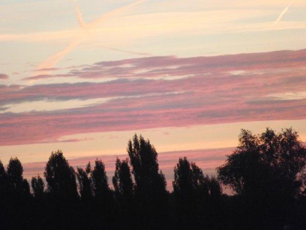 Ciel vu de ma fenêtre ...