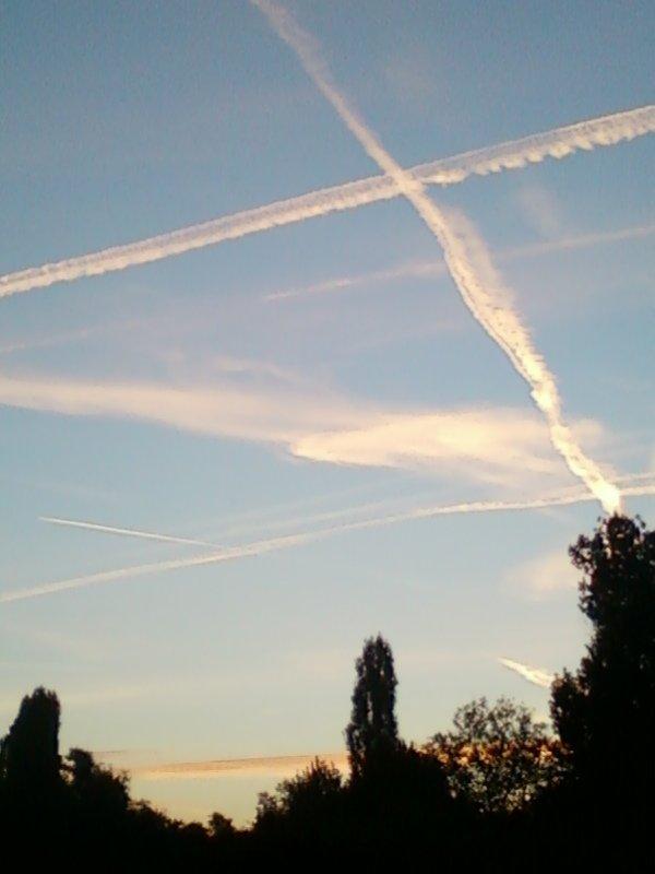 ciel vu un matin ...