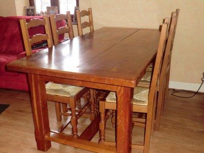vend table de ferme