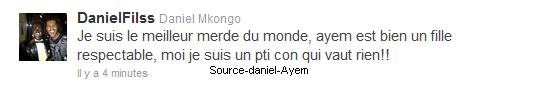 Daniel aurait tout gacher avec Ayem !