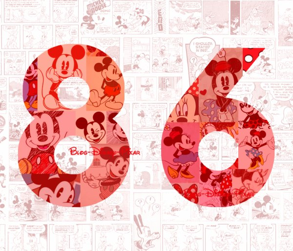 Happy Birthday Mickey and Minnie Mouse !