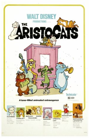 Les Aristochats, 1970