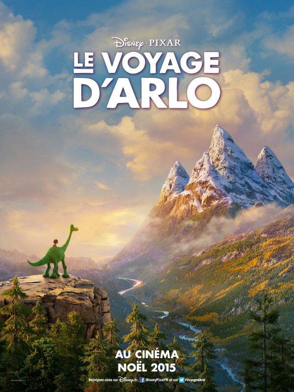Le Voyage d'Arlo: l'affiche française enfin disponible !