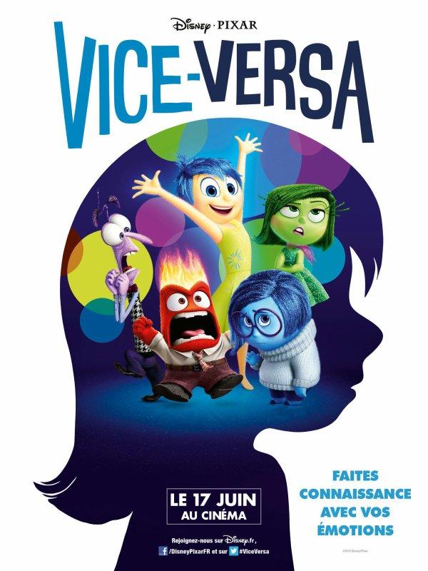 Vice-Versa aujourd'hui au cinéma !