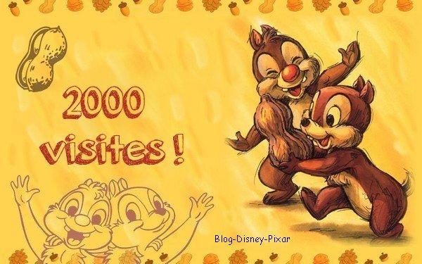 2000 visites ! Merci !