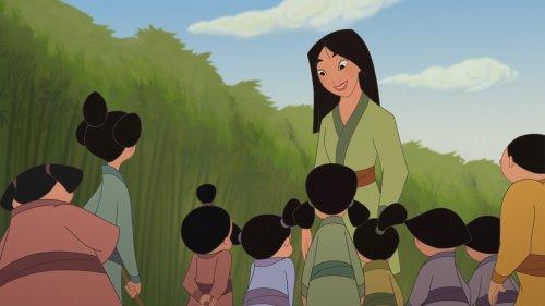 Mulan s'invite également chez vous ce soir !