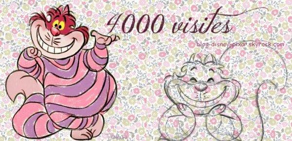 4000 visites ! Merci !