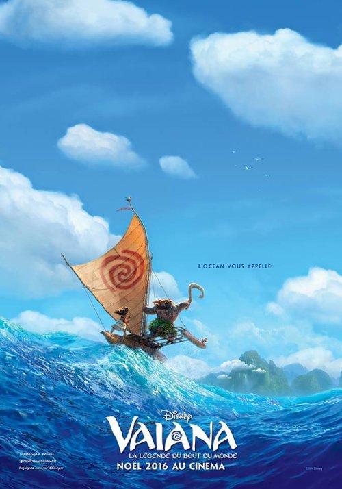 Première affiche de Vaiana, la Légende du Bout du Monde !