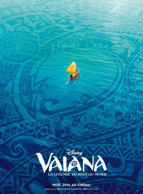 Vaiana, la Légende du Bout du Monde : l'affiche française enfin dévoilée !