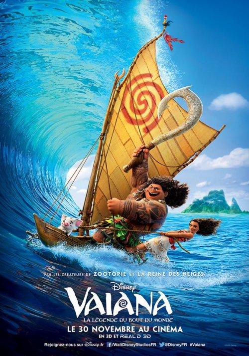 Nouvelle affiche de Vaiana, la Légende du Bout du Monde