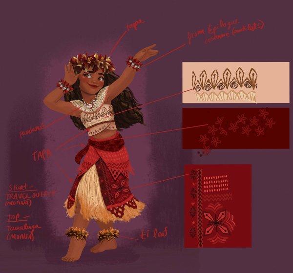 Concept arts de Vaiana, la Légende du Bout du Monde