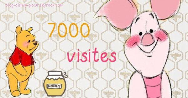 7000 visites ! Merci !