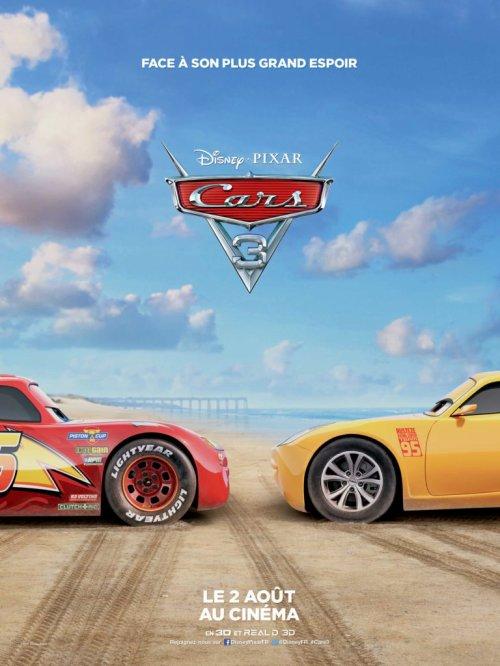Cars 3 : deux nouvelles affiches dévoilées !