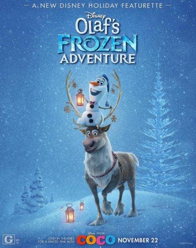 Olaf's Frozen Adventure : l'affiche dévoilée