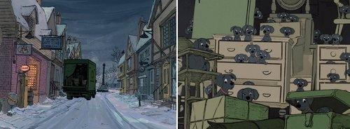 Dans les coulisses d'un film d'animation