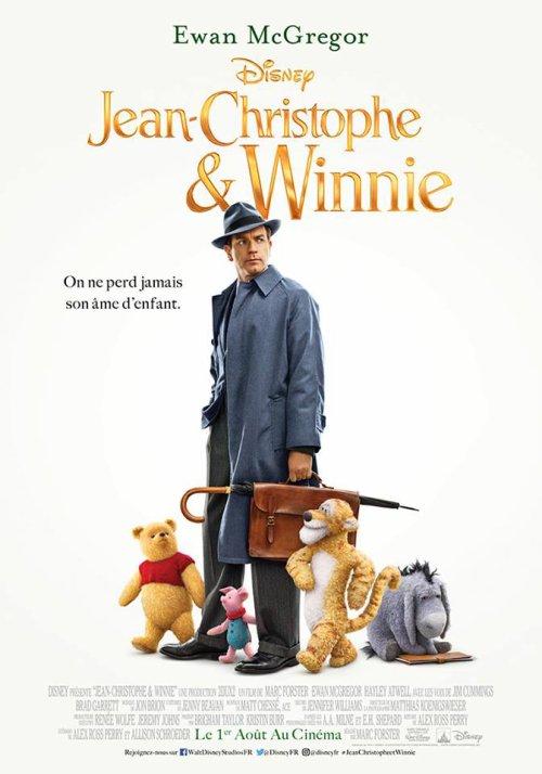 Jean-Christophe et Winnie : nouvelles affiche et bande-annonce !