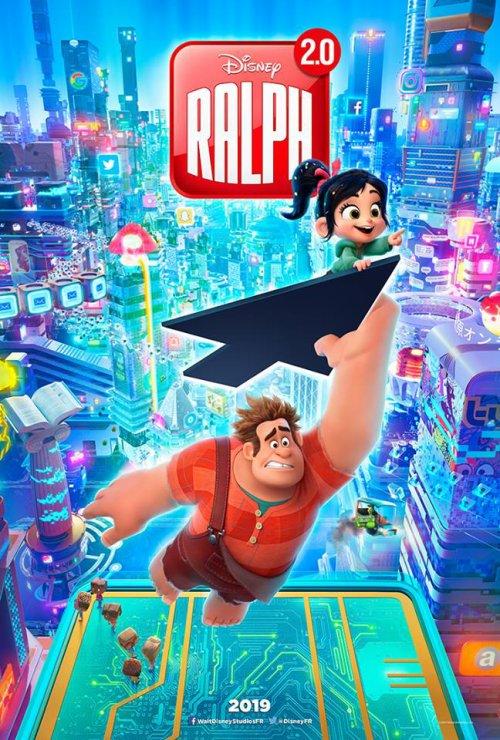 Ralph 2.0 : Une première affiche et une nouvelle bande-annonce !